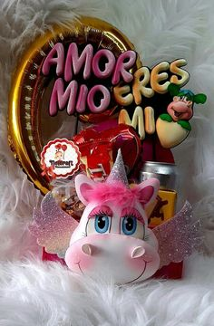 Magic Hands, Birthday Candles, Snow Globes, Unicorn, Barbie, Candy, Dolls, Amor, Tote Bags