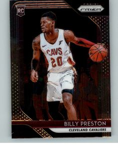 85525fa51a8d 2018-19 Panini Prizm Basketball  19 Billy Preston Rookie RC