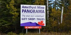 Amethyst Mine, guided and self guided tours. This is so on my bucket list! Rv Travel, Travel Planner, Travel List, Canada Travel, Summer Travel, Travel With Kids, Places To Travel, Canada Trip, Trip Planner