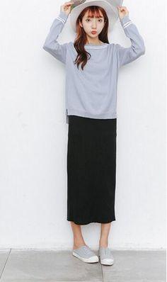 2017 Fashion skirt long Slim pencil skirt was