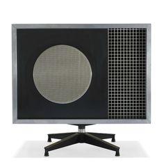 1956 Charles & Ray Eames | Speaker Design |Stephens Trusonic, Inc./Herman Miller | USA - Via