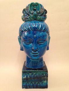 Bitossi - Kwan Yin The Female Budda........Buddha and Bitossi!!!!