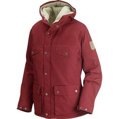 Can't wait to face winter with this nice oversized jacket from Fjällräven