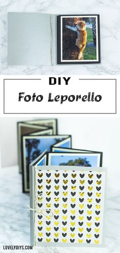 DIY Foto Leporello aus Papier basteln DIY Photo Leporello easy and cheap tinker paper – so you can put your photos beautifully in scene. But even as a DIY gift, this homemade photo album is great, z. Diy Gifts For Kids, Diy Gifts For Boyfriend, Diy Photo, Wallpaper World, Papier Diy, Chewing Gum, Diy Pillows, Diy Organization, Diy Videos