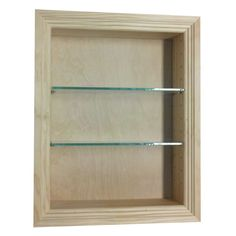 """WG Wood Products 18"""" Recessed In the wall Largo Niche 3.5d, Green"""