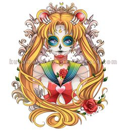 -- Sailor Moon Tattoo Commission -- by Kurama-chan on DeviantArt