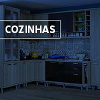 Cozinha Pequena Grande Industrial Provencal Rustica Colorida