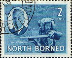 North Borneo 1950 SG 357 King George VI Fine Used Scott 245 Other Malayan Stamps HERE