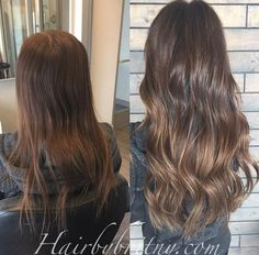 Before & After--- what a difference hair extensions make! #reflexionhair #reflexionhairextensions