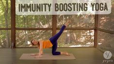 Immunity Boosting Yoga Routine: Fendable (open level) - Just in time for flu season, with Tylenol pose! Yoga Sequences, Yoga Poses, What Is Yoga, Restorative Yoga, Free Yoga, Flu Season, Yoga Tips, Relaxing Music, Best Yoga
