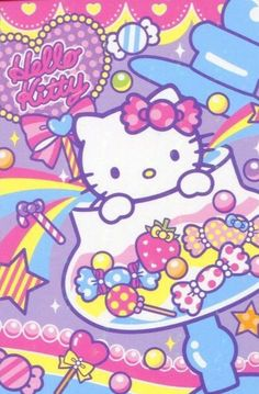 ♚◊ - Hello Kitty by 'Sanrio'♥ - ◊♚ cute art. . .colorful. . .kawaii
