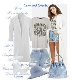 """""""Coat and Shorts"""" by lorrainekeenan ❤ liked on Polyvore"""