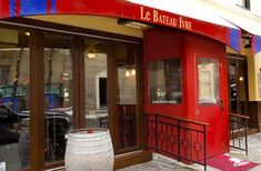 Le Bateau Ivre: Dinner with friends tomorrow night...just down the street :)