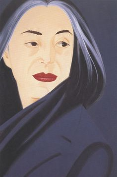 alex katz paints his lovely wife Ada over and over and over