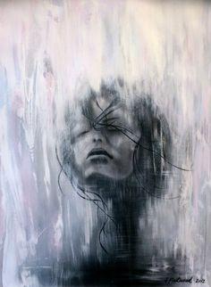 Saatchi Online Artist: Sophia Fleetwood; Paper, 2012, Mixed Media RAIVEUSE