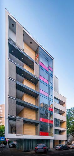 Office Building Architecture, Building Facade, Facade Architecture, Residential Architecture, Building Design, Contemporary Architecture, Building Images, Chinese Architecture, Futuristic Architecture