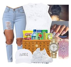 """""""9:38 """" by aaleeyahxpetty ❤ liked on Polyvore featuring Bebe, LASplash, River Island, Rolex, Nasaseasons and NIKE"""
