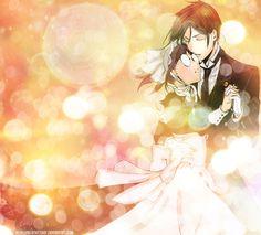 The Butler and the Maid by DruellaBlackRosier.deviantart.com on @deviantART. Mey-Rin's fantasy!