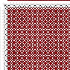 draft image: Page 176, Figure 3, Donat, Franz Large Book of Textile Patterns, 4S, 4T
