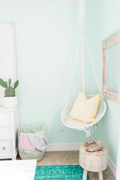 hanging egg chairmight be cool in place of a traditional rocker in a nursery my board pinterest hanging egg chair egg chair and hanging chair