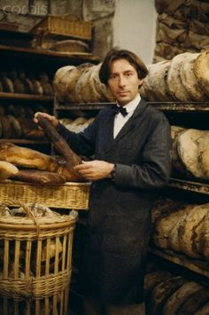 French baker Lionel Poilane