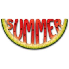 Watermelon Patch ❤ liked on Polyvore featuring beach, filler, words, backgrounds, food, text, phrase, quotes and saying