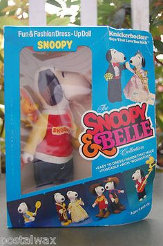Snoopy /& Belle Fancy Fashions Formal Outfit by Knickerbocker New on damaged Card