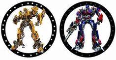 Transformers Party Free Printable Kit.