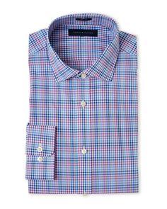 Tommy Hilfiger Slim Fit Check Dress Shirt