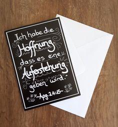 Trauer & Beileid - Trost- und Beileids-Klappkarte mit Briefumschlag - ein…
