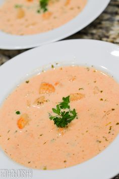 Lobster Bisque - definitely making this for my sons when they visit this weekend!  Update - made this today.  It's very good but I found a teaspoon of pepper to be too much.  Next time I make it I'll reduce it to half a teaspoon.