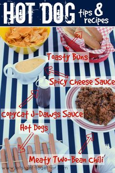 Hot Dog Tips & Recipes from Let's Get Together