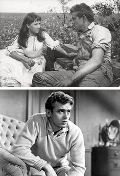 James Dean in East of Eden. A classic I've read but have yet to watch. Has James Dean, could it really be that bad?