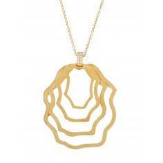 Gargantilla Simetría Plata/Oro Amarillo
