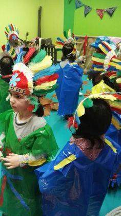 Taller de disfraces creado por Las Pakitas  para kids&us Miribilla