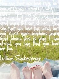 This looks like a truly neat itemNote: Shakespeare obviously did not say this. The original author is apparently unknown, but I like the quote, and I dont care.