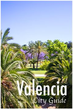 Valencia travel guide: Discover the city of Valencia by bike, try the best tapas and eat a traditional paella. #travel #valencia