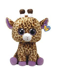 "Safari Giraffe Beanie Boo 6"" | Girls Stuffed Animals Beauty, Room & Tech | Shop Justice"