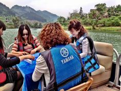 Unique marketing: Mah Jong players aboard a Tracker pontoon boat in rural China Horrible People, Pontoon Boat, Yamaha, China, Marketing, Unique, Bags, Travel, Handbags