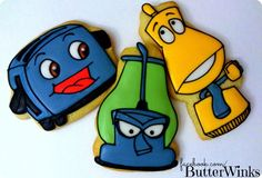 Brave Little Toaster cookies
