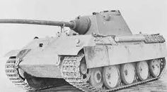 """There are VERY FEW photos of this, the last of the Panther  variants, the """"Ausf F"""" model with the updated Schmalturm turret and gun mantlet. None were known to be photographed during combat. This is a Ausf G chassis with the protype turret installed."""