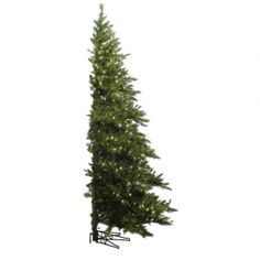 cd945c3926 7.5  Pre-Lit Westbrook Half Christmas Tree - Great for apartments and dorm  rooms