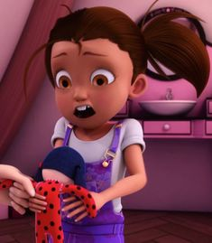 Manon Chamack | Miraculous Ladybug S1 | Ep 18 Marinette Doll, Ladybug And Cat Noir Reveal, Minor Character, Miraculous Ladybug, Characters, Dolls, Baby Dolls, Figurines, Puppet