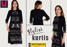 #Kurtis in all your favorite #colors! Find them here: www.nextsize.in