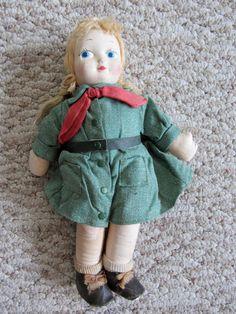 Georgene Novelties Official Girl Scout Doll