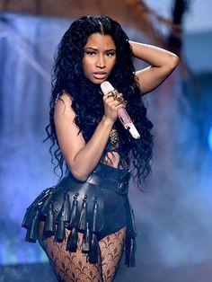 Nicki Minaj: Sexy, Natural Beauty At 2014 BET�Awards