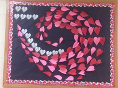 Valentine's Day bulletin board idea...