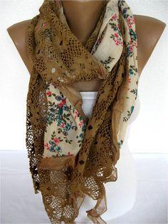 ON SALE Trend Scarf Fashion Scarf  ShawlsScarvesGift by SmyrnaShop