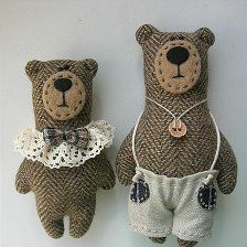 Cute Crafts, Felt Crafts, Kids Crafts, Softies, Sock Dolls, Fabric Animals, Fabric Toys, Bear Doll, Cute Toys