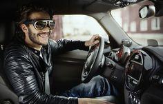 Mini Augmented Vision Smart Glasses, Wearable Tech Hits the Road! #smartglasses #wearables